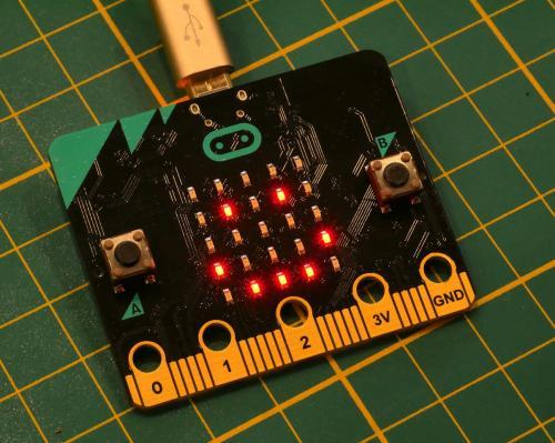 Ein Microbit